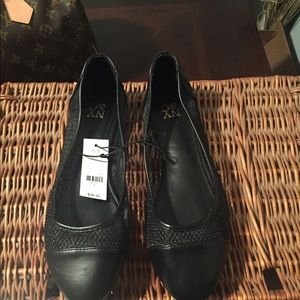 NY&C black flats Brand new 7